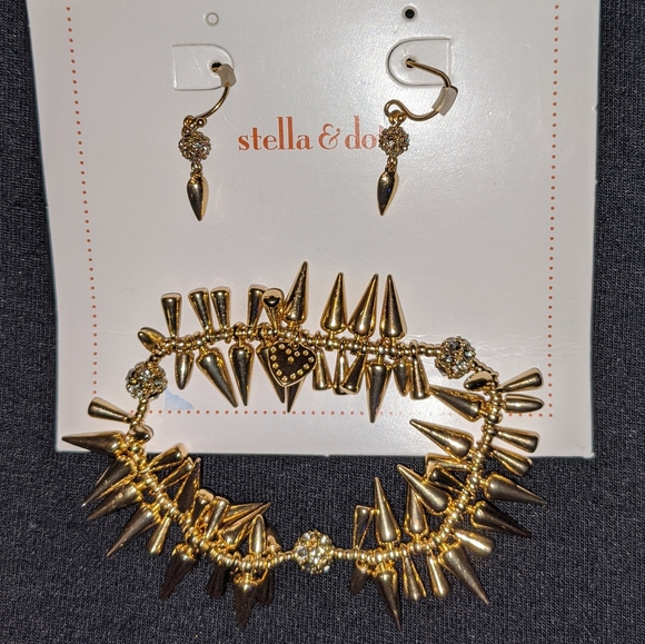 Stella & Dot Jewelry - Stella & Dot Renegade Bracelet/Earrings